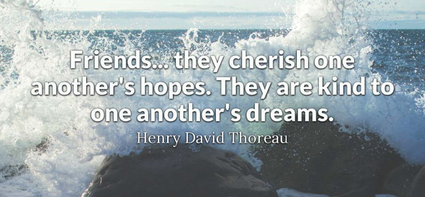 Thoreau quote from Brainyquote